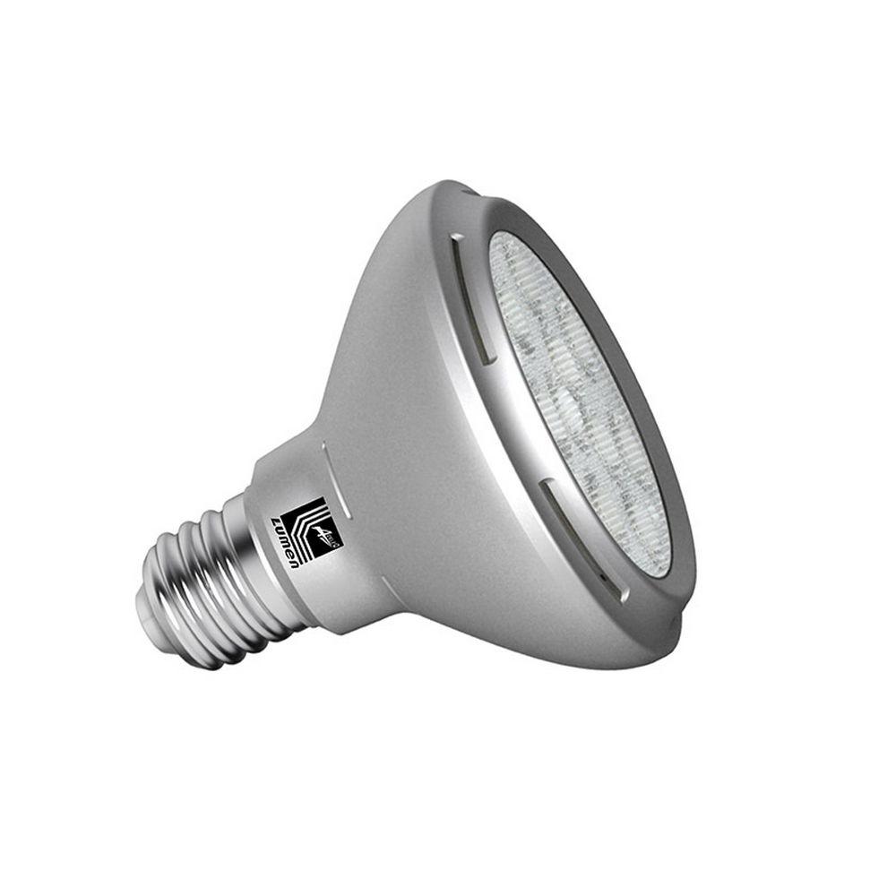 LED SMD ΑΛΟΥΜΙΝΙΟ ΑΣΗΜΙ PAR30 E27 12W 230V 24° COOL WHITE
