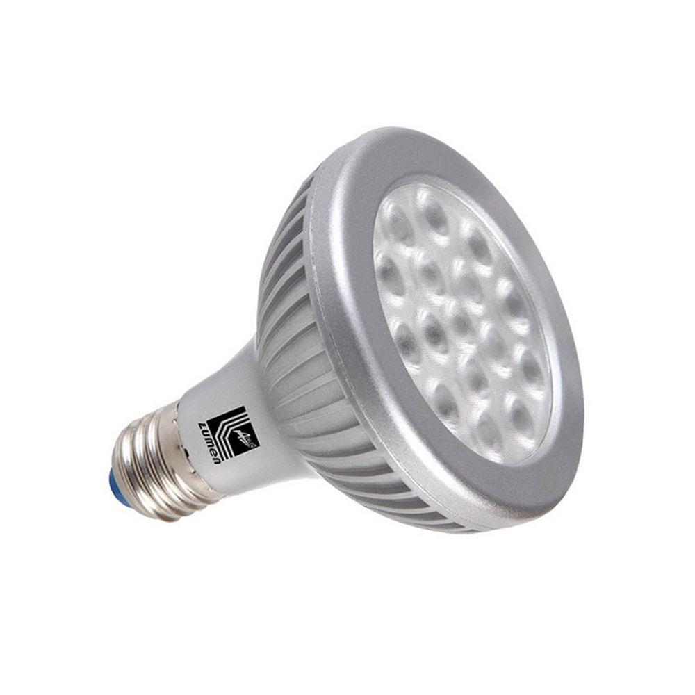LED SMD ΑΛΟΥΜΙΝΙΟ ΑΣΗΜΙ PAR30 E27 16W 230V 35° COOL WHITE