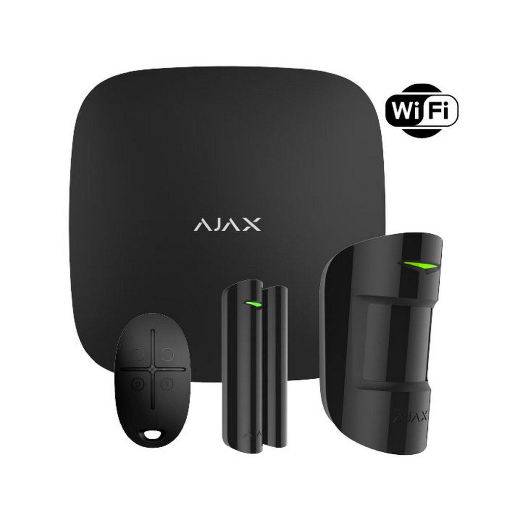 StarterKit PLUS (Black) Ajax Hub Ajax MotionProtect Ajax DoorProtect Ajax SpaceControl