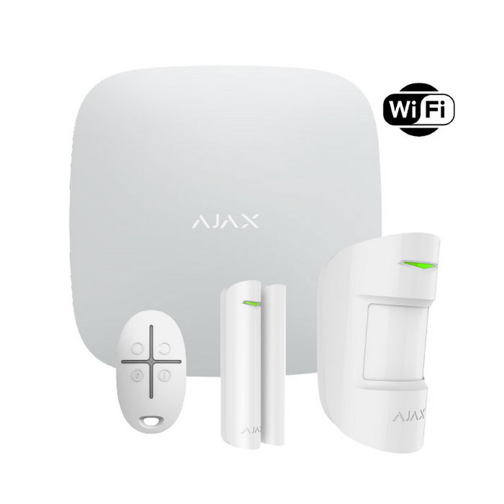 StarterKit PLUS (White) Ajax Hub Ajax MotionProtect Ajax DoorProtect Ajax SpaceControl
