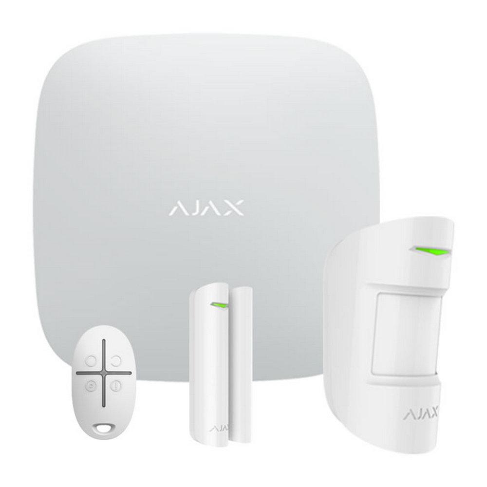 StarterKit (White) Ajax Hub Ajax MotionProtect Ajax DoorProtect Ajax SpaceControl