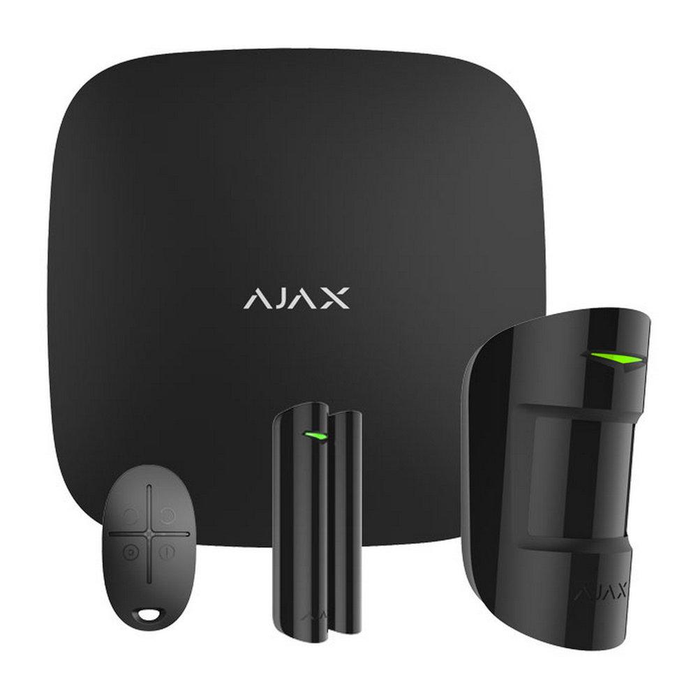 StarterKit (Black) Ajax Hub Ajax MotionProtect Ajax DoorProtect Ajax SpaceControl