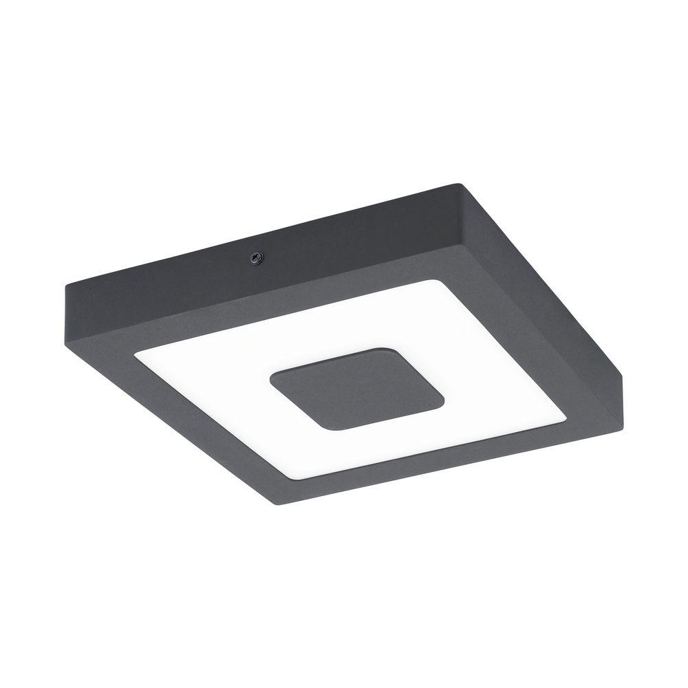 ΑΛΟΥΜΙΝΙΟ-LED-DL 225X225 ΑΝΘΡΑΚΙ IPHIAS EGLO