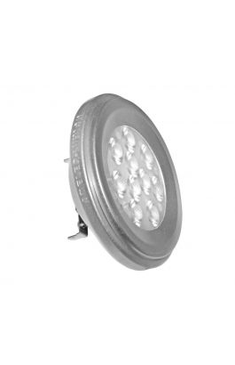 LED SMD AR111 ΑΣΗΜΙ ΑΛΟΥΜΙΝΙΟ 12W 12VAC/DC 36° COOL WHITE