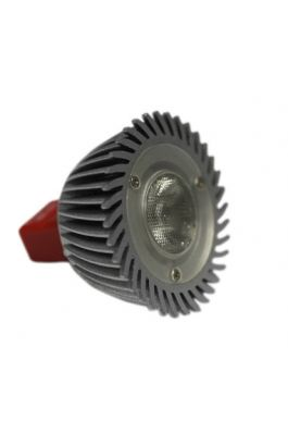 LED MR16 3W 12VAC/DC 1LED 30° DIMMABLE COOL WHITE (ΕΝΑΛΛΑΞΙΜΟ ΦΑΚΟ)