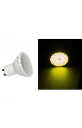 LED ΛΑΜΠΑ GU10 2.5W 230V 105° ΚΙΤΡΙΝΟ