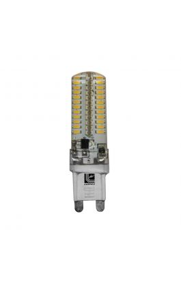 LED ΣΙΛΙΚΟΝΗΣ G9 4W 230VAC 330° WARM WHITE