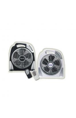 Ανεμιστήρας Επιδαπέδιος Box Fan Φ30Cm 50W Με Τηλεχειριστήριο Λευκός 20.06.1178