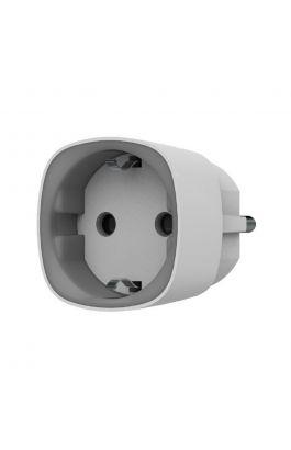 Ajax Socket (White) Ασύρματη έξυπνη πρίζα με ένδειξη κατανάλωσης