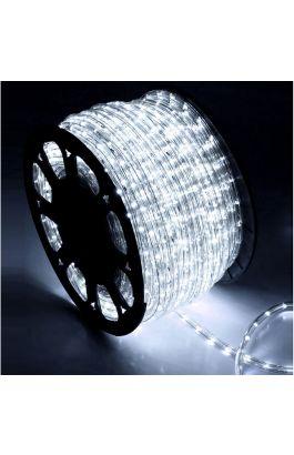 ΦΩΤΟΣΩΛΗΝΑ LED Φ13mm ΔΙΚΑΝΑΛΗ ΔΙΑΦΑΝΗ ΜΕ 36LED/m COOL