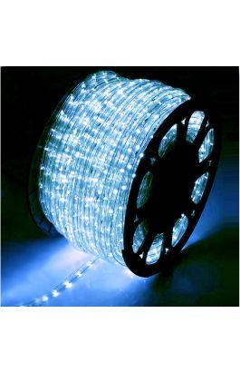 ΦΩΤΟΣΩΛΗΝΑ LED Φ13mm ΔΙΚΑΝΑΛΗ ΔΙΑΦΑΝΗ ΜΕ 36LED/m BLUE