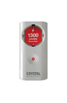 Μπρίζα Ασφαλείας Crystal Audio 1300J 70dB White CPW1-1300-70W