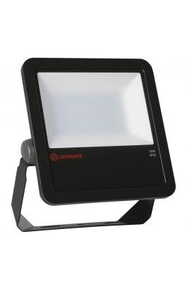FLOOD LED 70W/6500K BK 100DEG IP65 LEDV