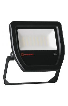 FLOOD LED 30W/4000K BK 100DEG IP65 LEDV