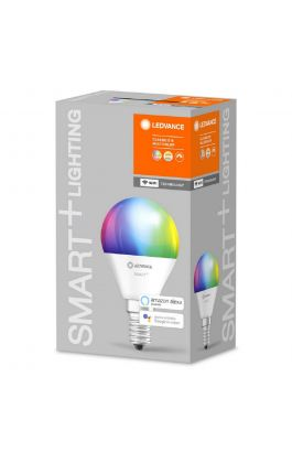 ΛΑΜΠΕΣ LED SMART+ WiFi CL P  RGBW 40 yes  5W/ E14 LEDVANCE