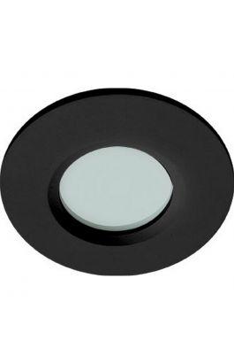 Χωνευτό Σποτ Μαύρο Round Viki 4151401  VIOKEF