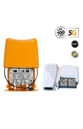 438620 NanoKom Kit: ΕΝΙΣΧΥΤΗΣ ΙΣΤΟΥ 5G LTE + PSU 12V UHF/VHF/SAT