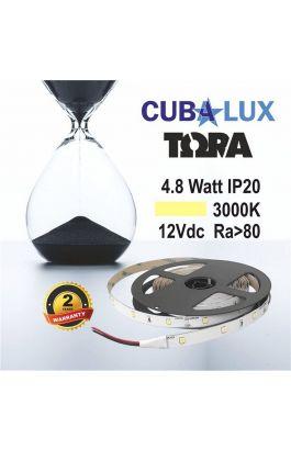 TAINIA 4,8W IP20 12V WW 3000K 5M TORA 50-0003