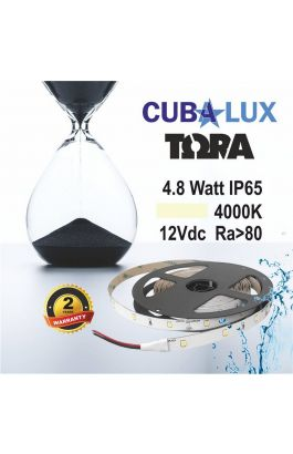 TAINIA 4,8W IP65 12V NW 4000K 5M TORA 50-0005