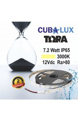 TAINIA 7,2W IP65 12V WW 3000K 5M TORA 50-0012