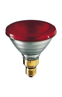 PAR38 IR 175W E27 230V Red 1CT PHILIPS