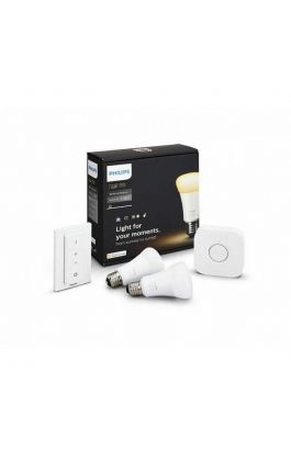 HUE AMBIANCE KIT 9.5W A60 E27 SET PHILIPS (2X BULB + 1 SWITCH + 1X BRIDGE)