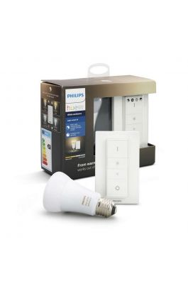 HUE AMBIANCE LIGHT RECIPE KIT 9.5W A60 E27 PHILIPS (1X BULB + 1 SWITCH - BRIDGE NOT INCLUDED)