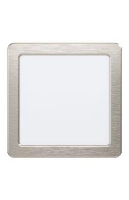 LED-ΧΩΝΕΥΤΟ 166X166 ΝΙΚΕΛ 4000KFUEVA5