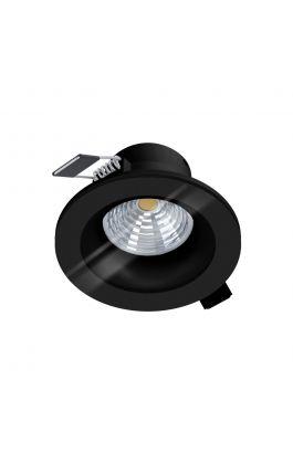 LED-ΧΩΝΕΥΤΟ  Ø88 ΜΑΥΡΟ 2700K SALABATE