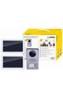 Kit Video 7in TS WiFi 2F alim. DIN
