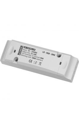 LED CONTROLLER 3 CHANNEL ( DMX - 512 ) LD-RGB-DMX MASTER