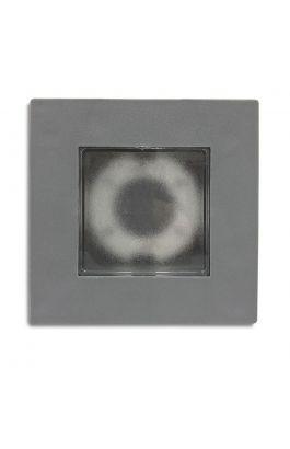 ΦΩΤΙΣΤΙΚΟ ΠΛΑΣΤΙΚΟ ΕΠΙΤΟΙΧΟ ΧΩΝΕΥΤΟ ΙΡ65 GX53 ΓΚΡΙ 13,5x13,5x4,6cm ARAPIDIS LIGHTING