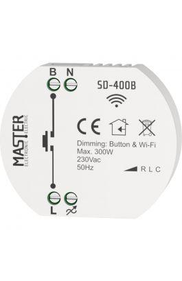 DIMMER ΚΥΤΙΟΥ 230V/300W LED (Wi-Fi) SD-400B MASTER