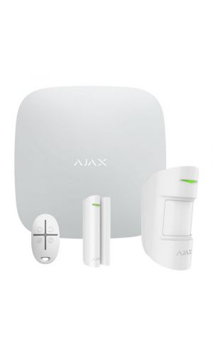 StarterKit (White) Ajax Hub Ajax MotionProtect Ajax DoorProtect Ajax SpaceControl